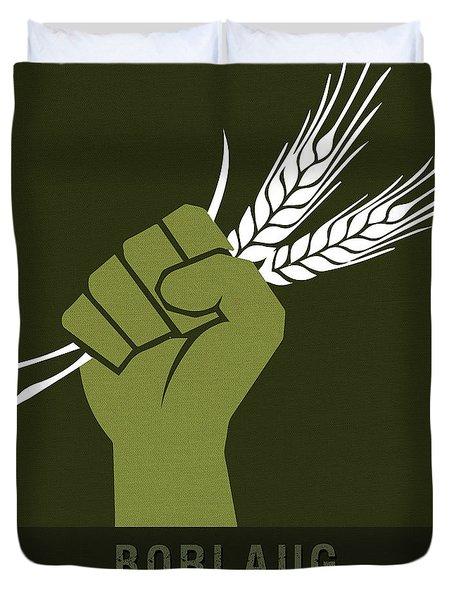 Science Posters - Norman Borlaug - Biologist, Agronomist Duvet Cover