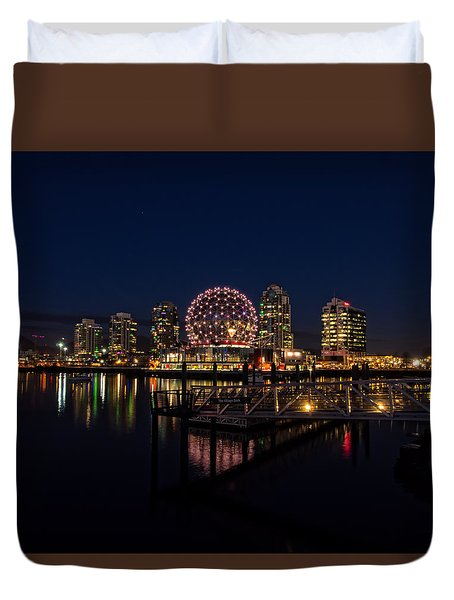 Science World Nocturnal Duvet Cover