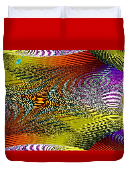 Scirocco Duvet Cover by Mathilde Vhargon