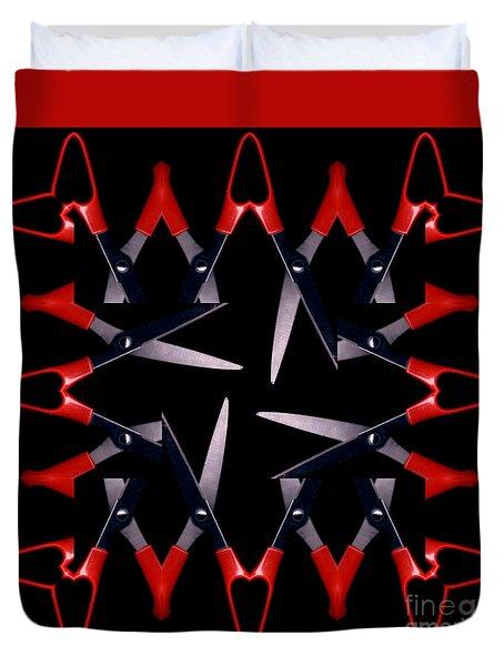 Scissors Duvet Cover