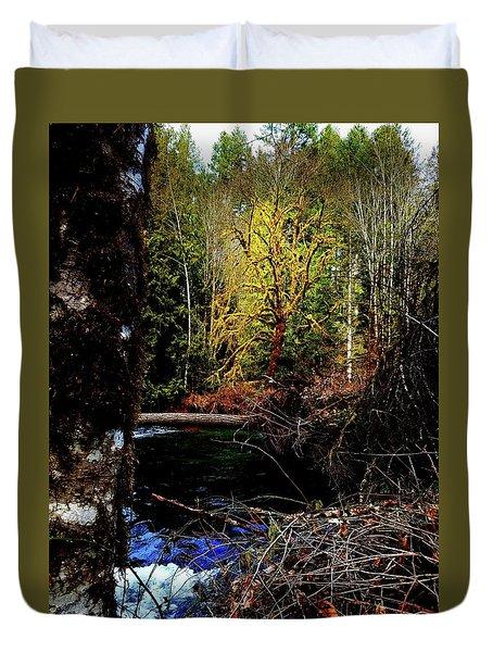 Scoggins Creek 3 Duvet Cover