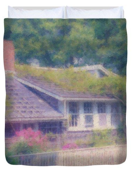 Sconset Cottage #3 Duvet Cover