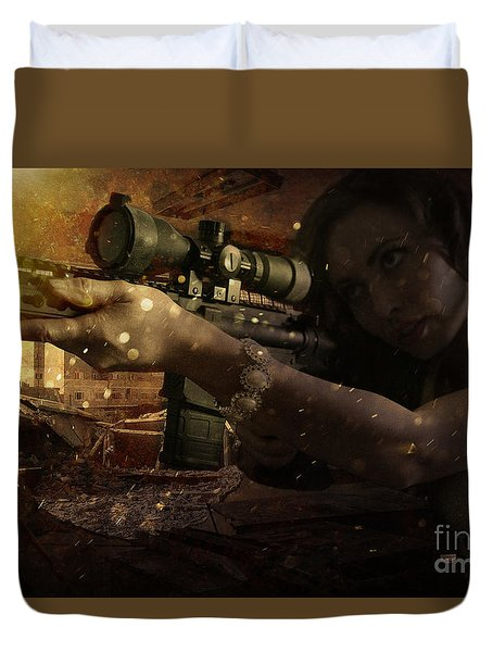 Scopped Duvet Cover