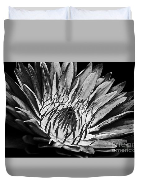 Scorched Lotus Duvet Cover