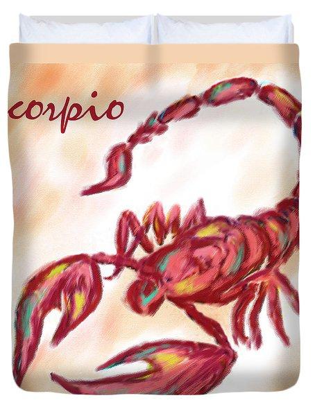 Scorpio Duvet Cover