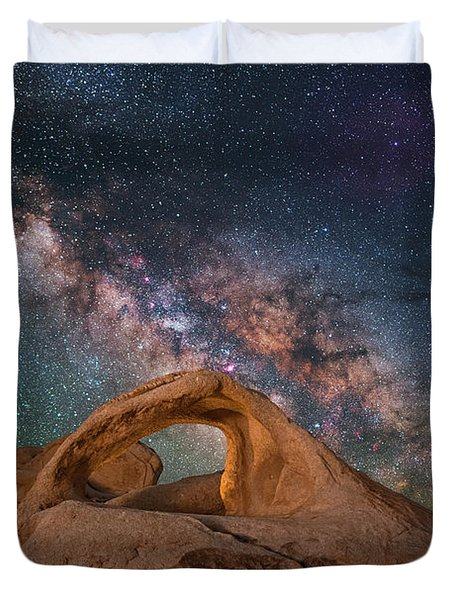 Scorpius And Its Arch Duvet Cover