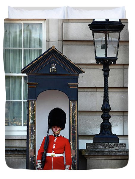 Scots Guard Buckingham Palace Duvet Cover