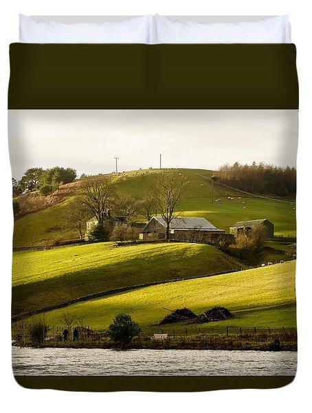 Scots' Pastoral. Duvet Cover