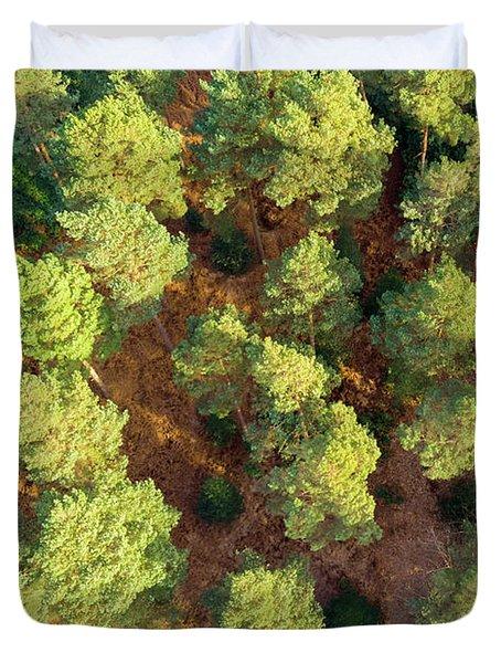 Scots Pines Duvet Cover
