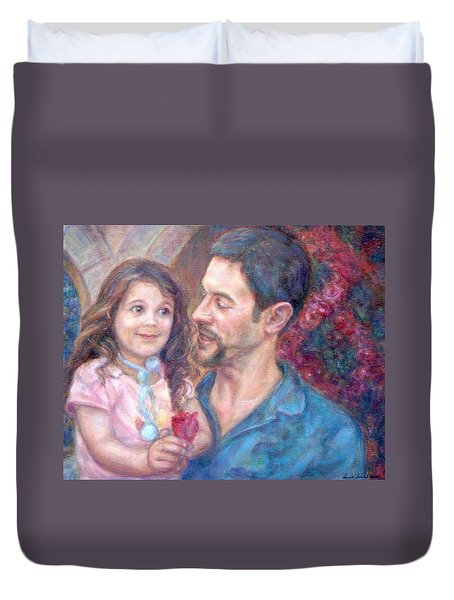 Scott And Sam Commission Duvet Cover