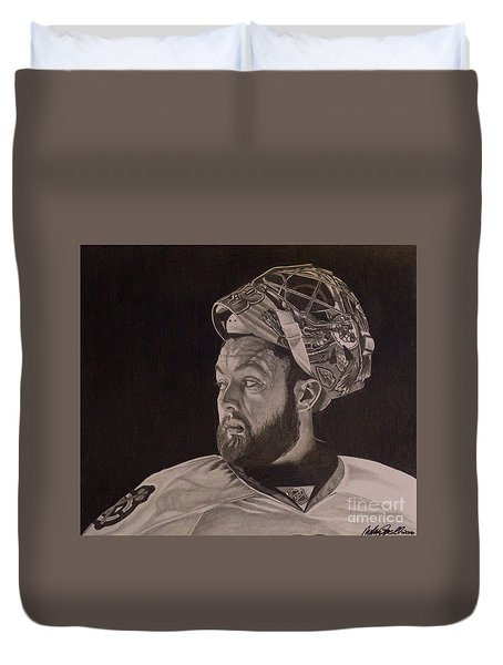 Scott Darling Portrait Duvet Cover