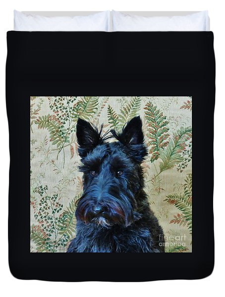 Scottie Duvet Cover by Michele Penner