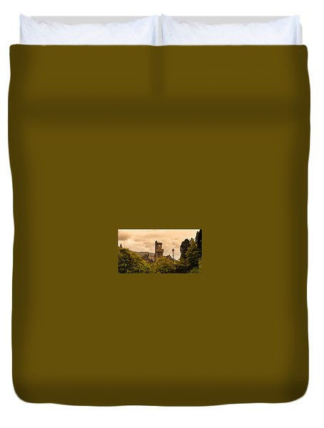 Scottish Abbey Duvet Cover