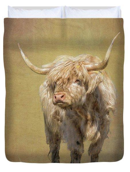 Scottish Highlander Duvet Cover