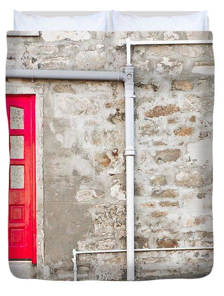 Scottish House Duvet Cover
