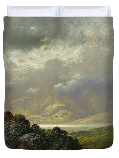 Scottish Landscape Duvet Cover