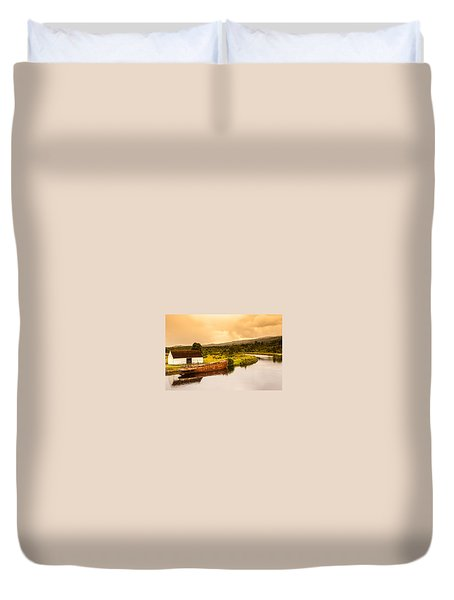 Scottish Loch 2 Duvet Cover
