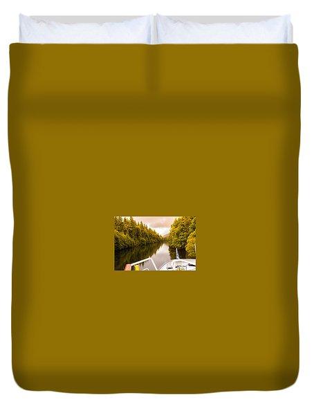 Scottish Loch 4 Duvet Cover