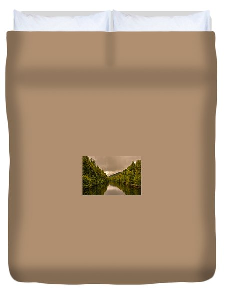 Scottish Loch 5 Duvet Cover