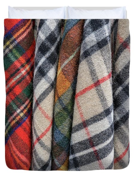 Scottish Plaids Duvet Cover