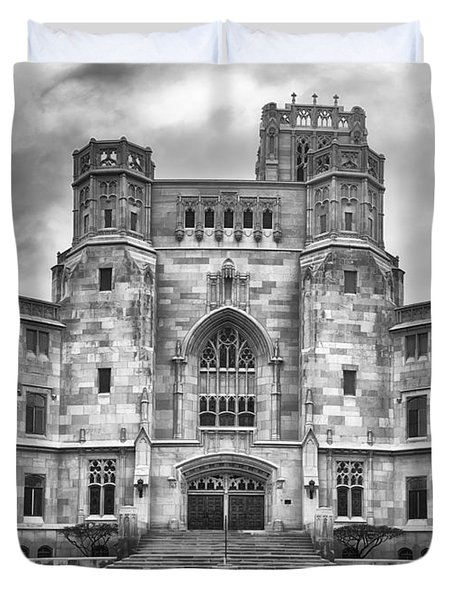 Duvet Cover featuring the photograph Scottish Rite Cathedral by Howard Salmon