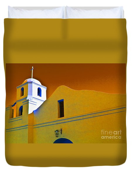 Scottsdale Mission Duvet Cover