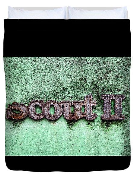 Scout II Duvet Cover