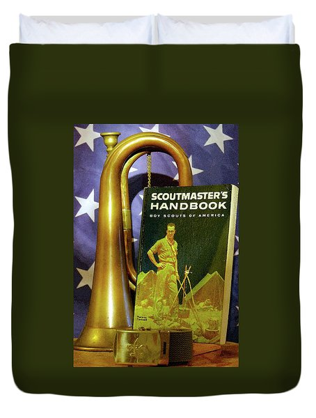Scoutmaster Duvet Cover