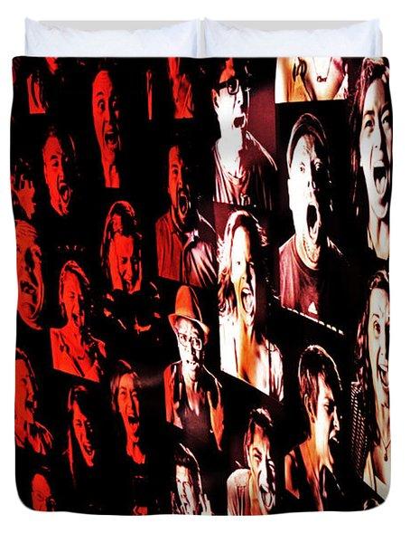 Scream Duvet Cover