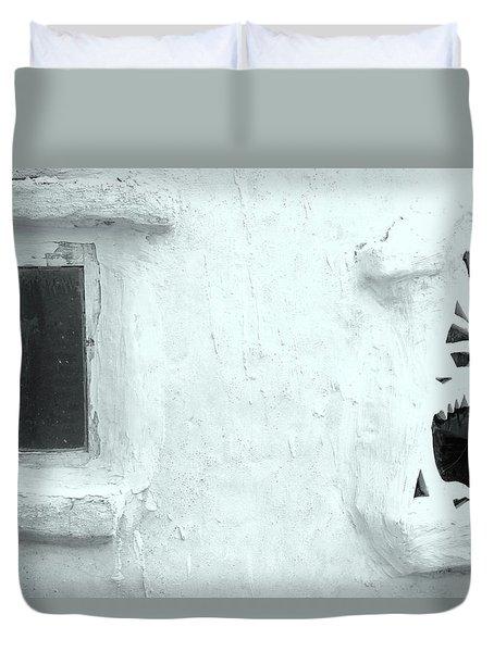 Scream Wall Duvet Cover
