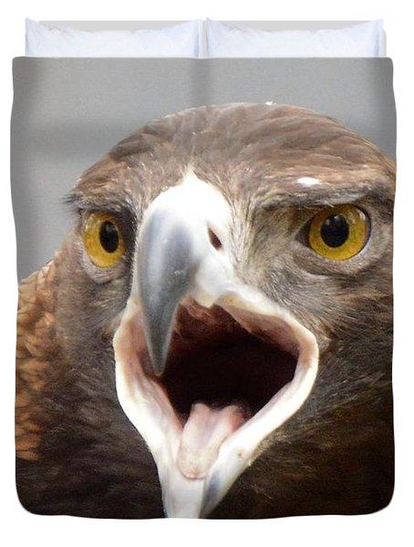 Screaming Eagle Duvet Cover