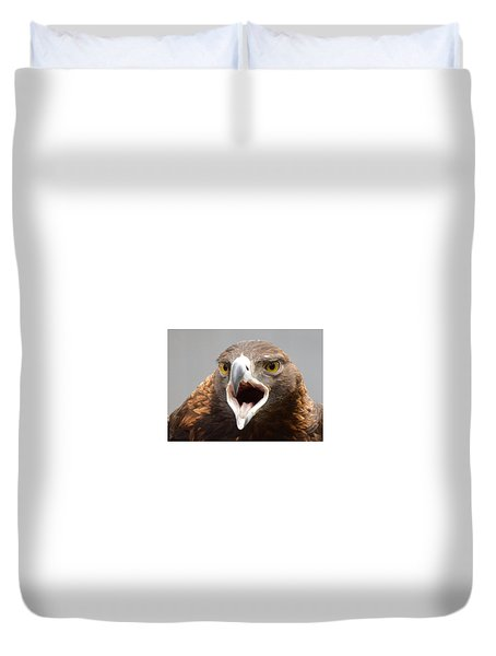 Screaming Eagle Duvet Cover