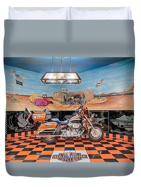 Screamin Eagle Harley Duvet Cover