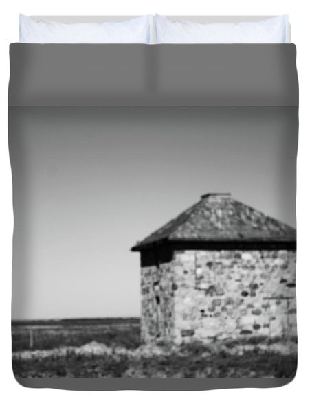 Screaming House Of Indian Head Duvet Cover