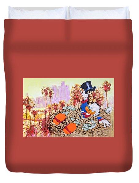Scrooge In La Duvet Cover
