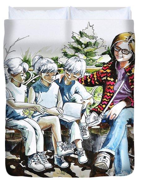 Lasting Pupils Duvet Cover
