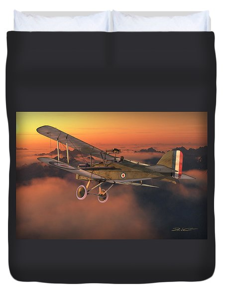 S.e. 5a On A Sunrise Morning Duvet Cover by David Collins