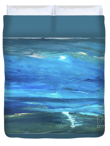 Sea And Sky Duvet Cover