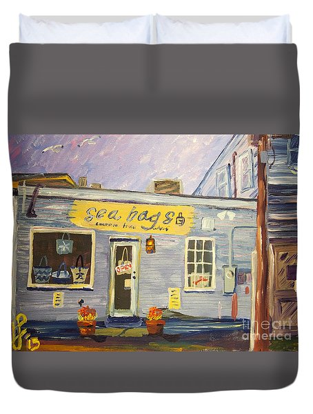 Sea Bags Duvet Cover