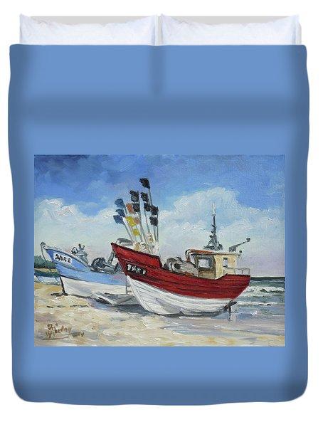 Sea Beach 10 - Baltic Duvet Cover