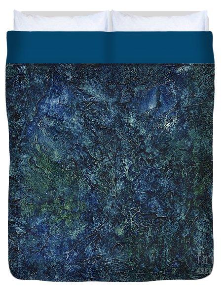 Sea Blue, Sea Green Duvet Cover