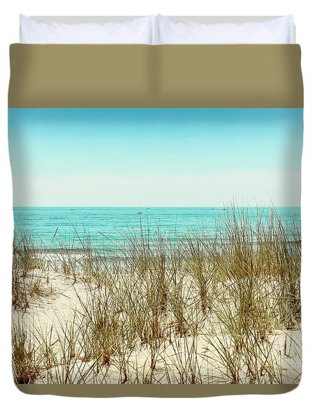 Sea Breeze Duvet Cover by Colleen Kammerer