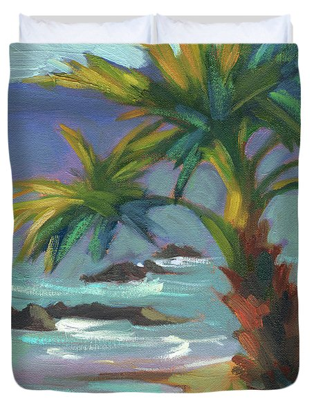 Sea Breeze Duvet Cover by Diane McClary