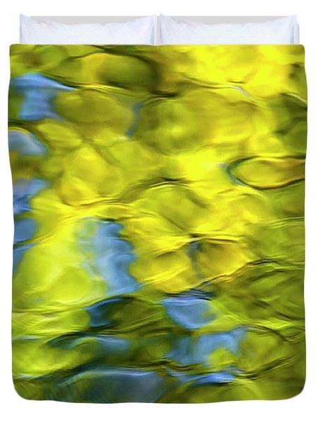 Sea Breeze Mosaic Abstract Duvet Cover