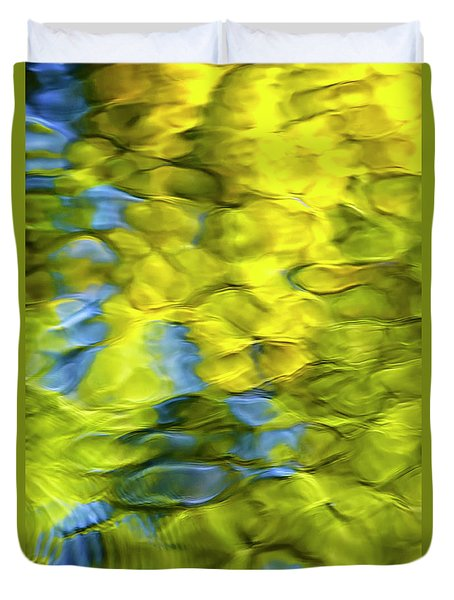 Sea Breeze Mosaic Abstract Duvet Cover