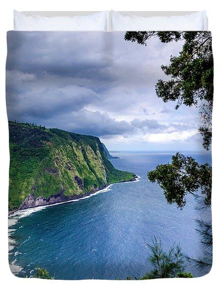 Sea Cliffs Duvet Cover