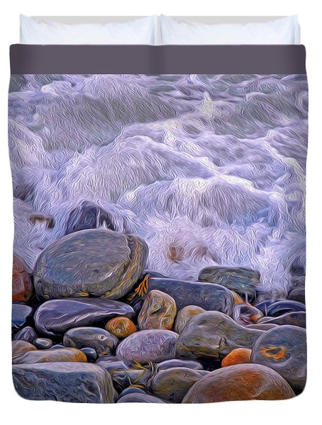 Sea Covers All  Duvet Cover