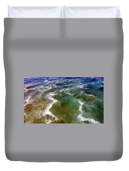 Artistic Ocean Photo Duvet Cover