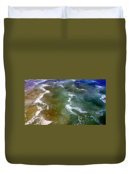 Creative Ocean Photo Duvet Cover