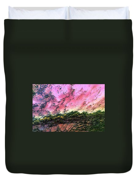 Sea Foam Art Duvet Cover